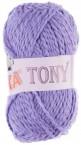 Baumwoll Strickgarn TONY by VLNIKA 50 g No. 5009 violett