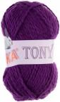 Baumwoll Strickgarn TONY by VLNIKA 50 g No. 5010 lila